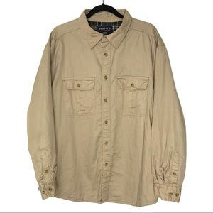 Smith's Workwear XL Flannel Lined Shirt Jacket